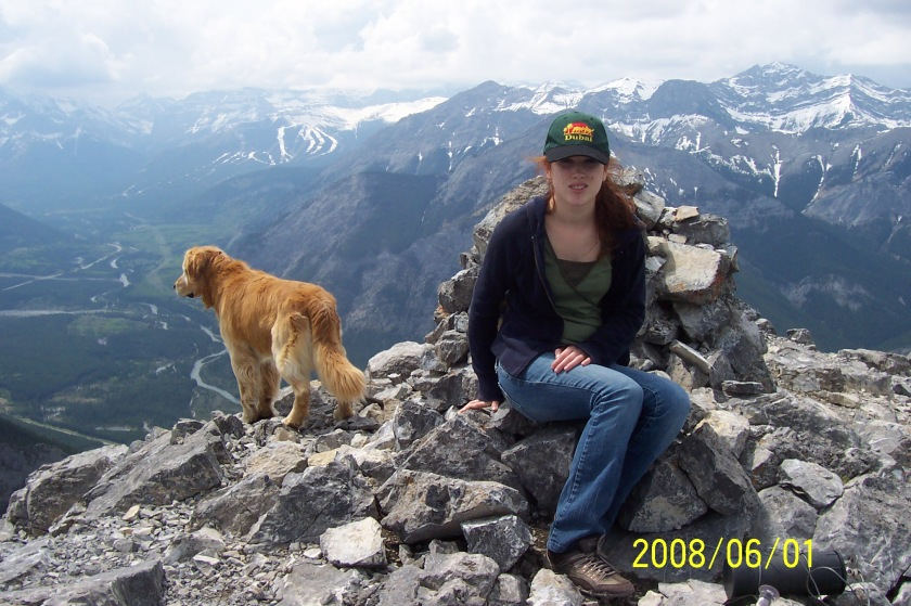 Mt Baldy Kirsten 800m elev gain June 1 08 006