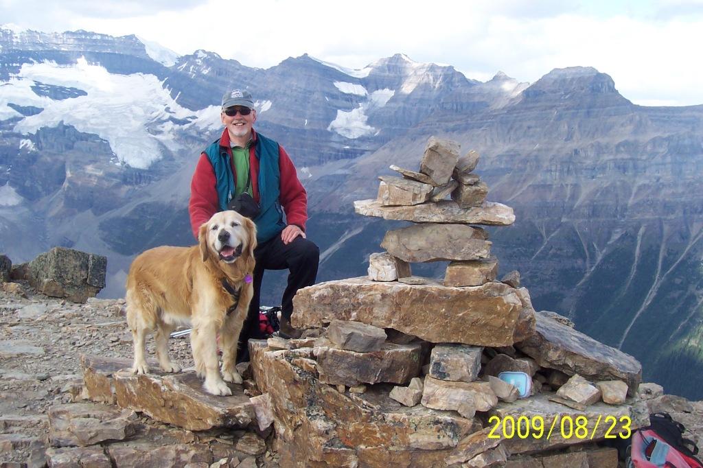 Buddy on Mount Fairview