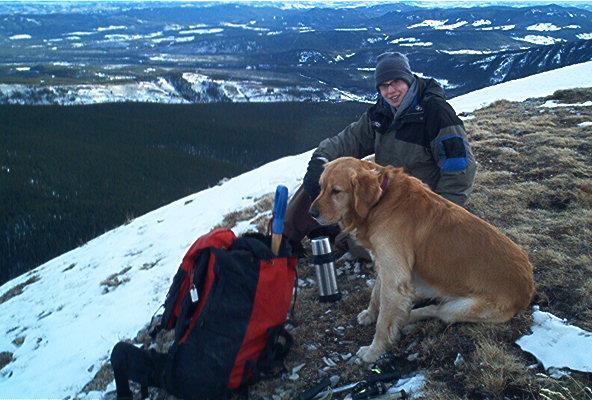 Jason & Buddy Prairie Mtn Dec 03 -1