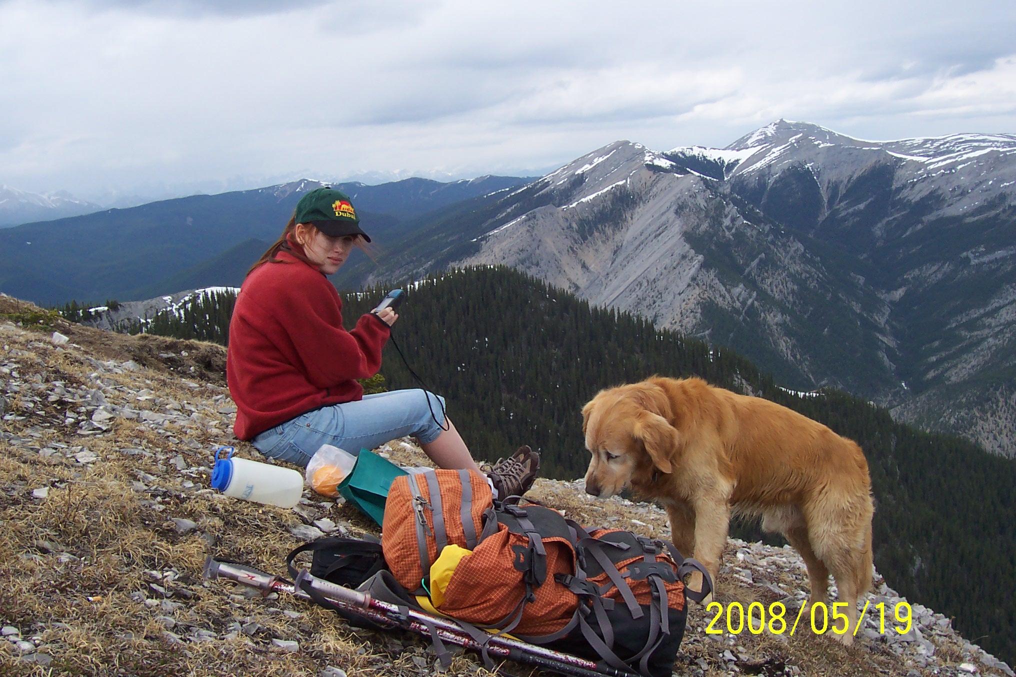 Prairie Mtn Kirsten 700m elev gain May 19 08 002