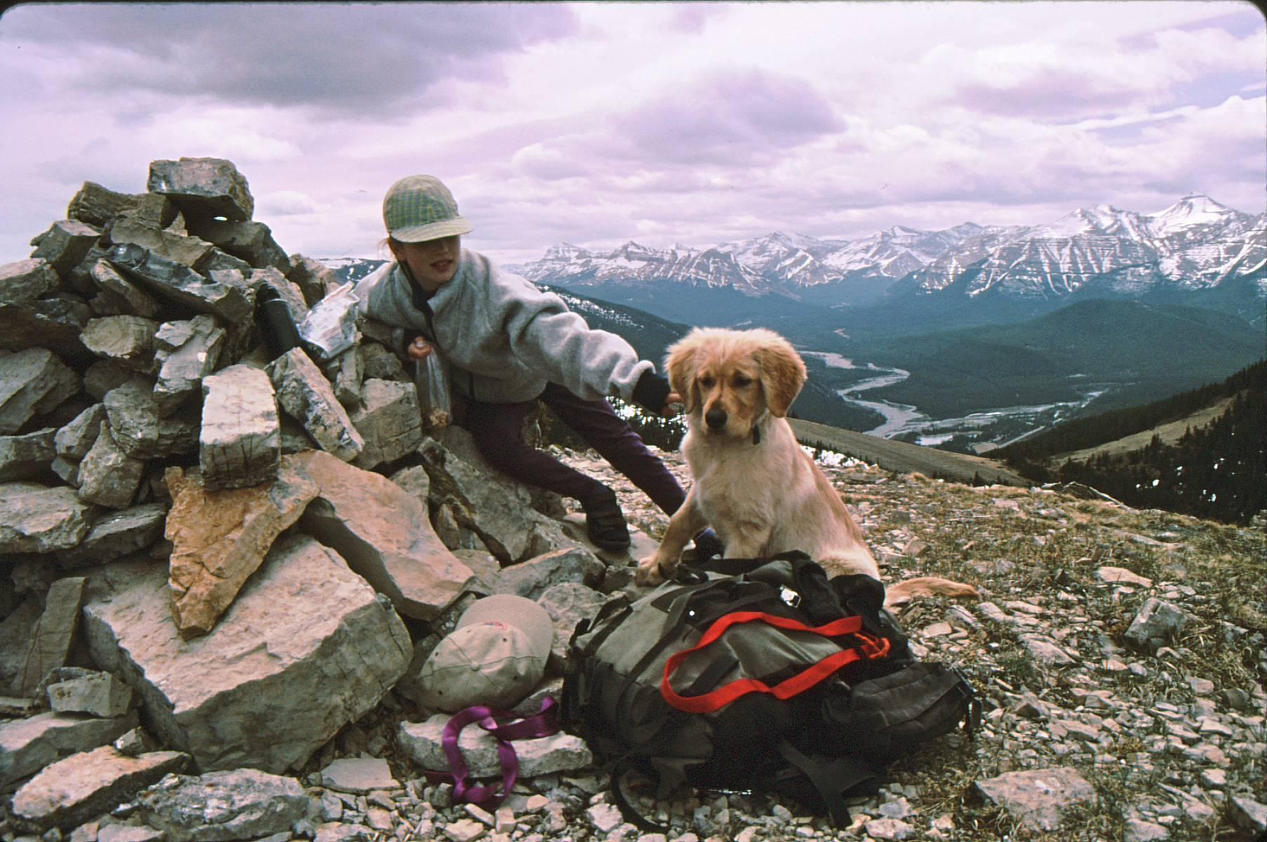 Kirsten&Buddy Powderface Ridge 2000 -4