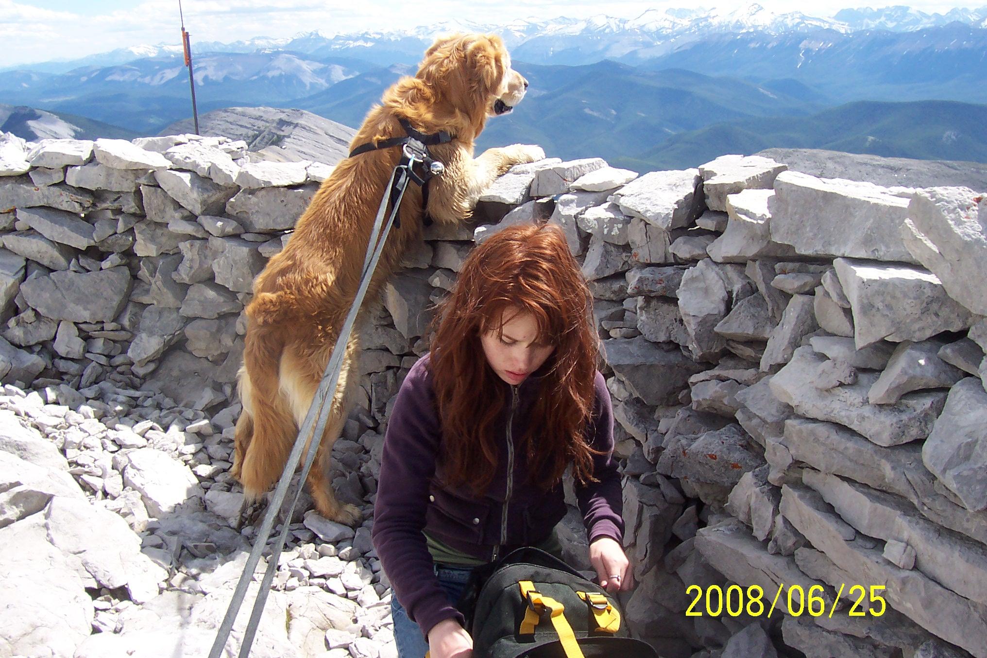 Moose Mountain 670 m 14 km round trip Jun 25 08 004