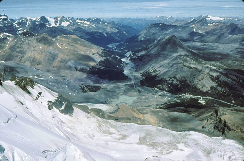 Tangle Ridge from Mt. Athabasca