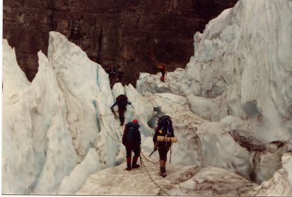 Fay Glacier Aug 11 84