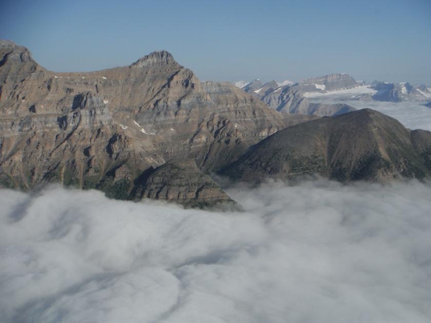 Devil's Thumb Fairview clouds
