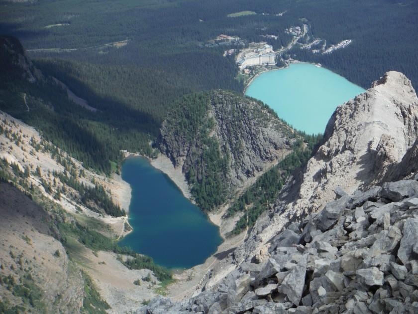 Mt. Whyte Devil's Thumb