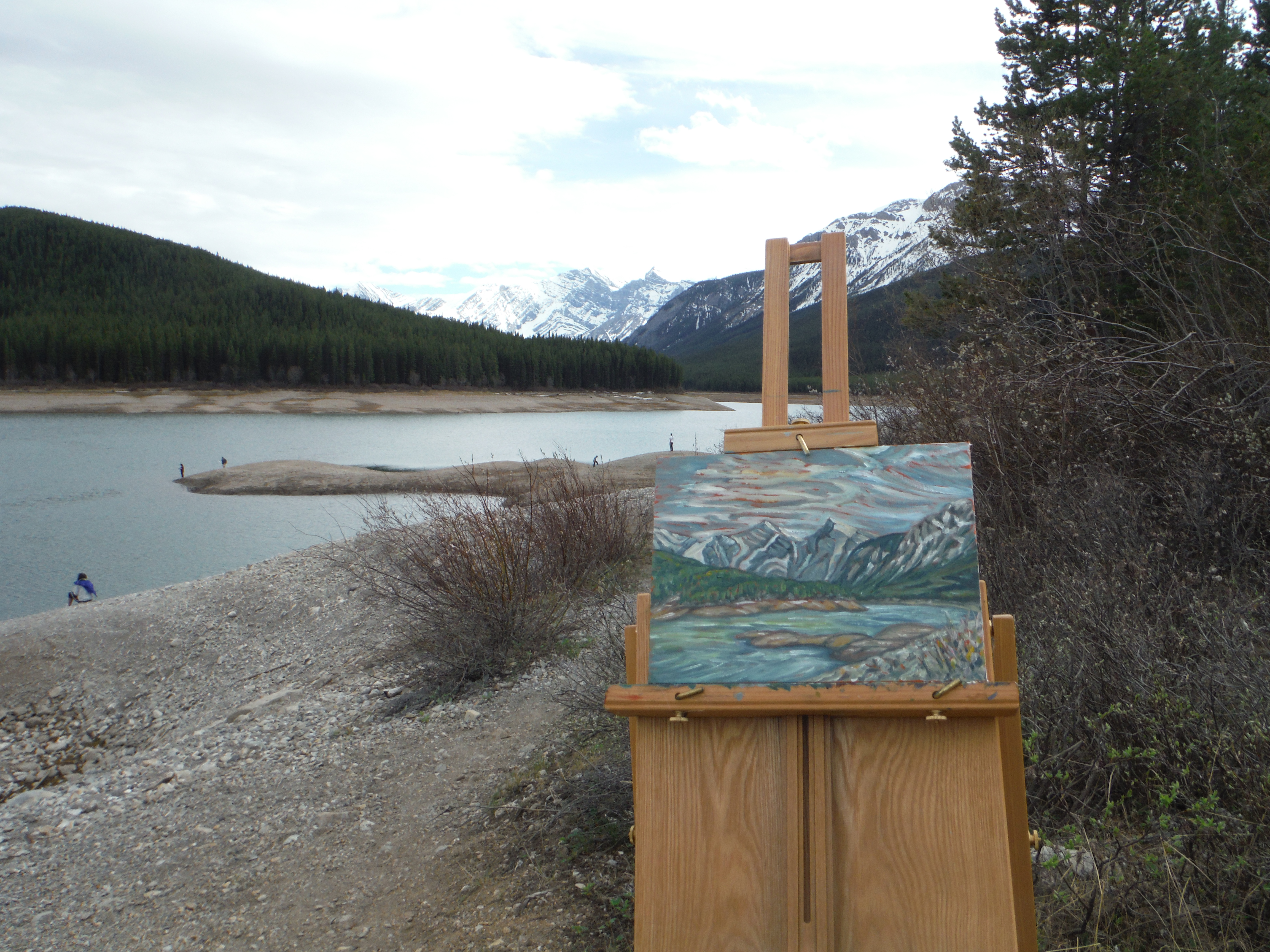 plein air Kananaskis