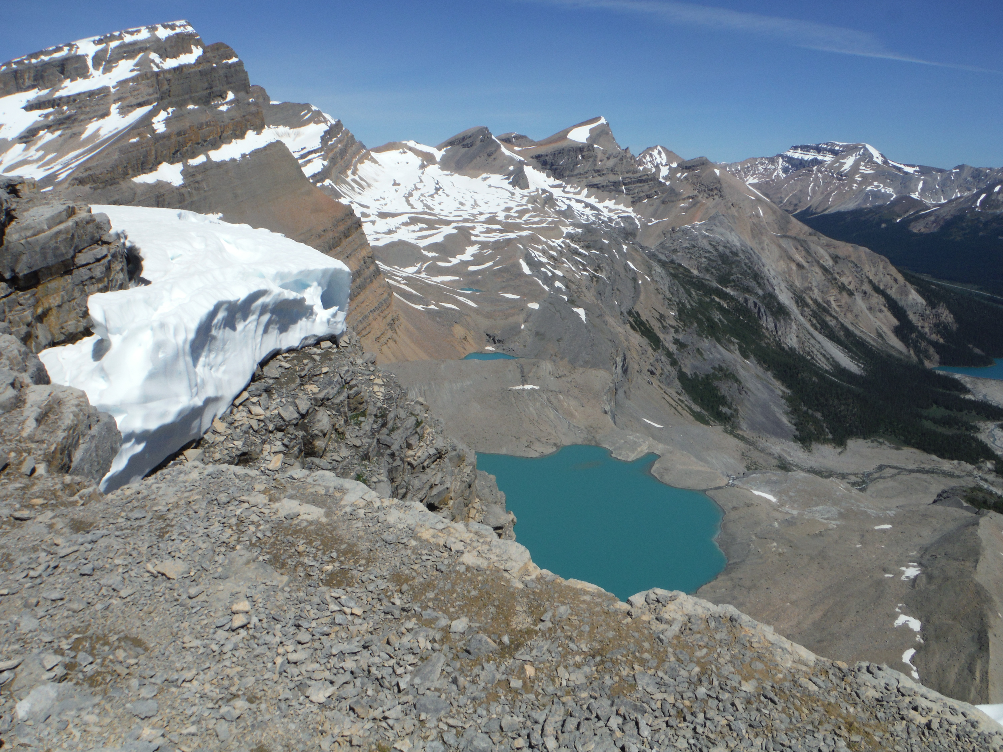 The Onion Iceberg Lake Mt. Thompson Portal Peak Mt. Jimmy Simpson Banff National Park Wapta Icefield Bow Lake