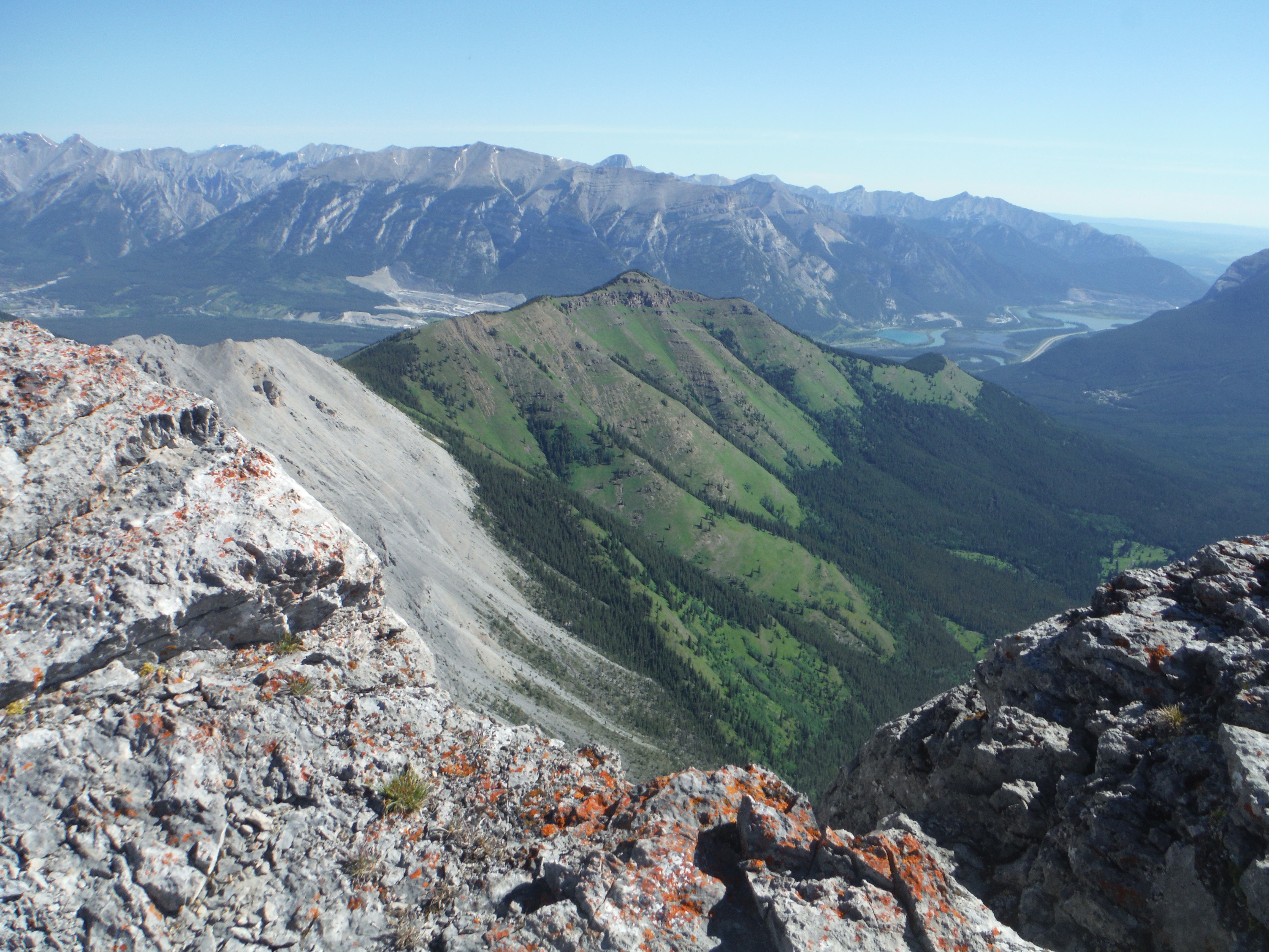 Wind Ridge Rimwall Summit Grotto Mtn. Bow Valley Canmore