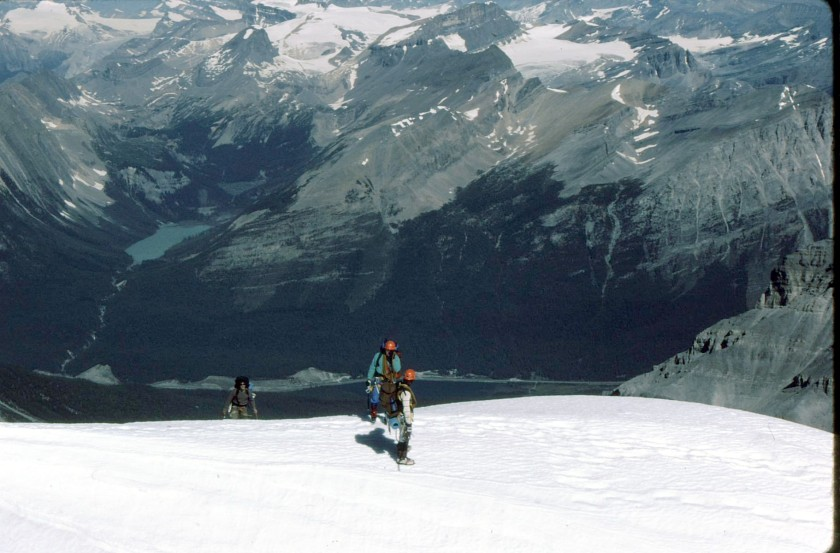 Mt. Victoria North Glacier Paget Peak Sherbrooke Lake
