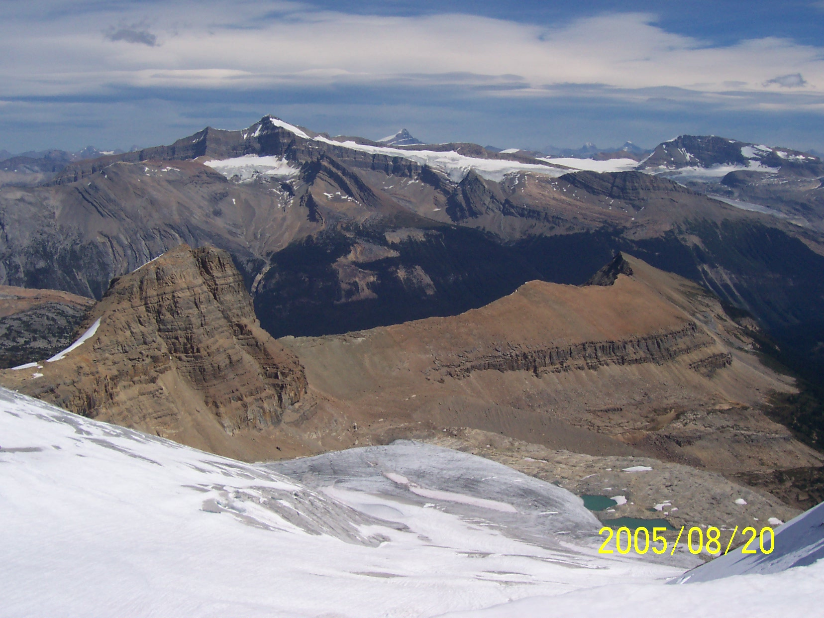 Isolated Peak Whaleback Mtn. Mt. McArthur Mt. Balfour Trolltinder Mtn. Mt. Daly Mt. Hector Yoho National Park